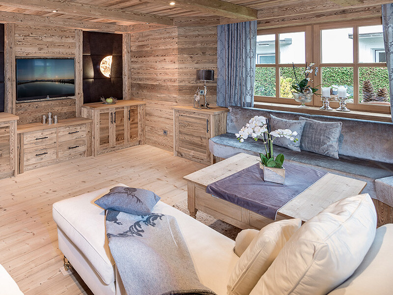 Wohnzimmer - Tischlerei Hager